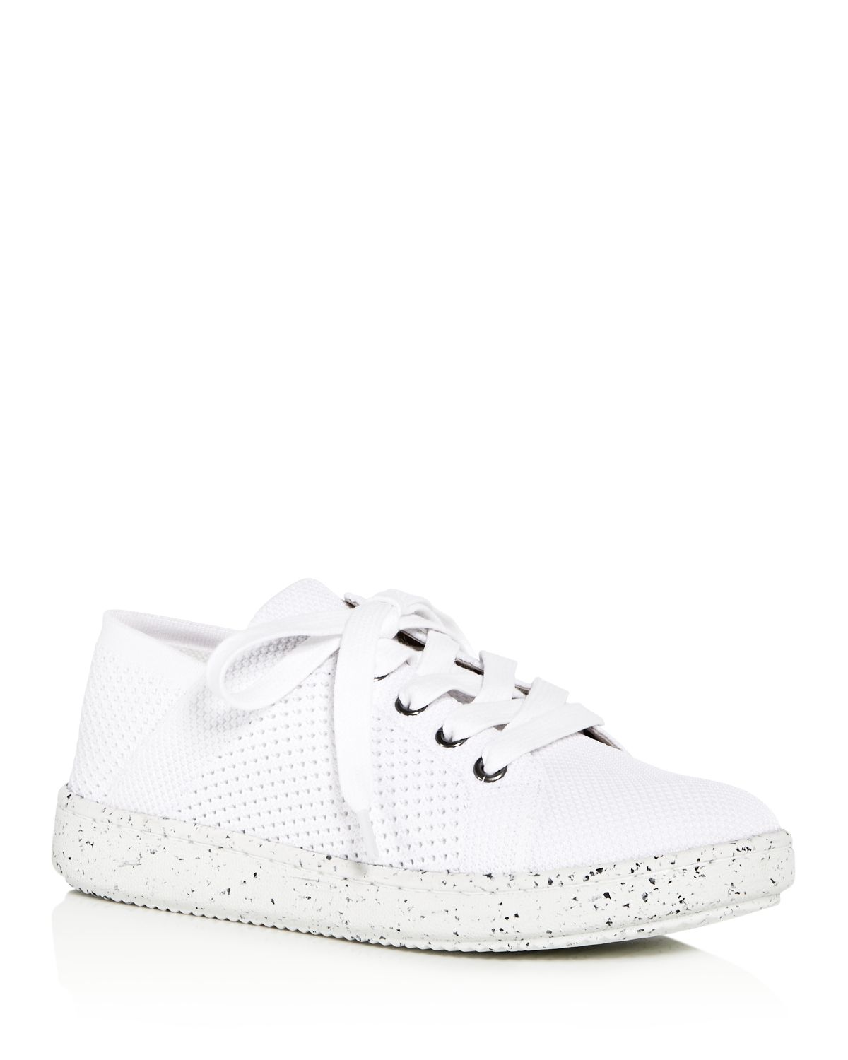 Eileen Fisher Women's Clifton Knit Lace Up Sneakers