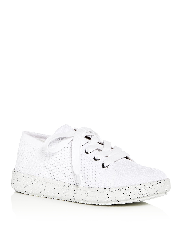 Eileen Fisher Women's Clifton Knit Lace Up Sneakers ziwTlZqj