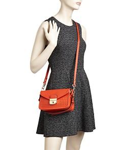 Longchamp - Mademoiselle Small Leather Crossbody