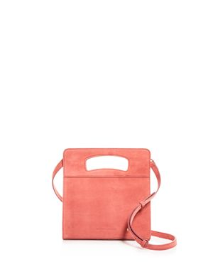 CREATURES OF COMFORT GILDA SUEDE SHOULDER BAG