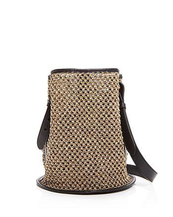 Creatures of Comfort - Small Raffia Bucket Bag