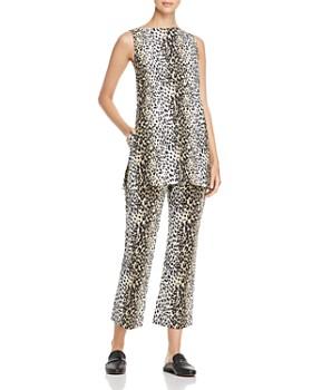 Weekend Max Mara - Nino Leopard-Print Cutout Tunic