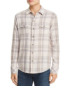 PAIGE Everett Plaid Flannel Button-Down Shirt - Bloomingdale's_0