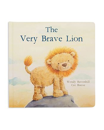 Jellycat - The Very Brave Lion Book - Ages 0+