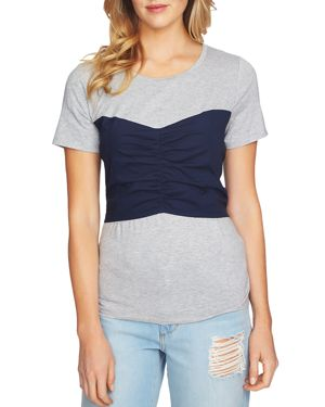 1.state Tie-Back Tee