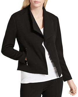 Calvin Klein - Ribbed Flyaway Jacket