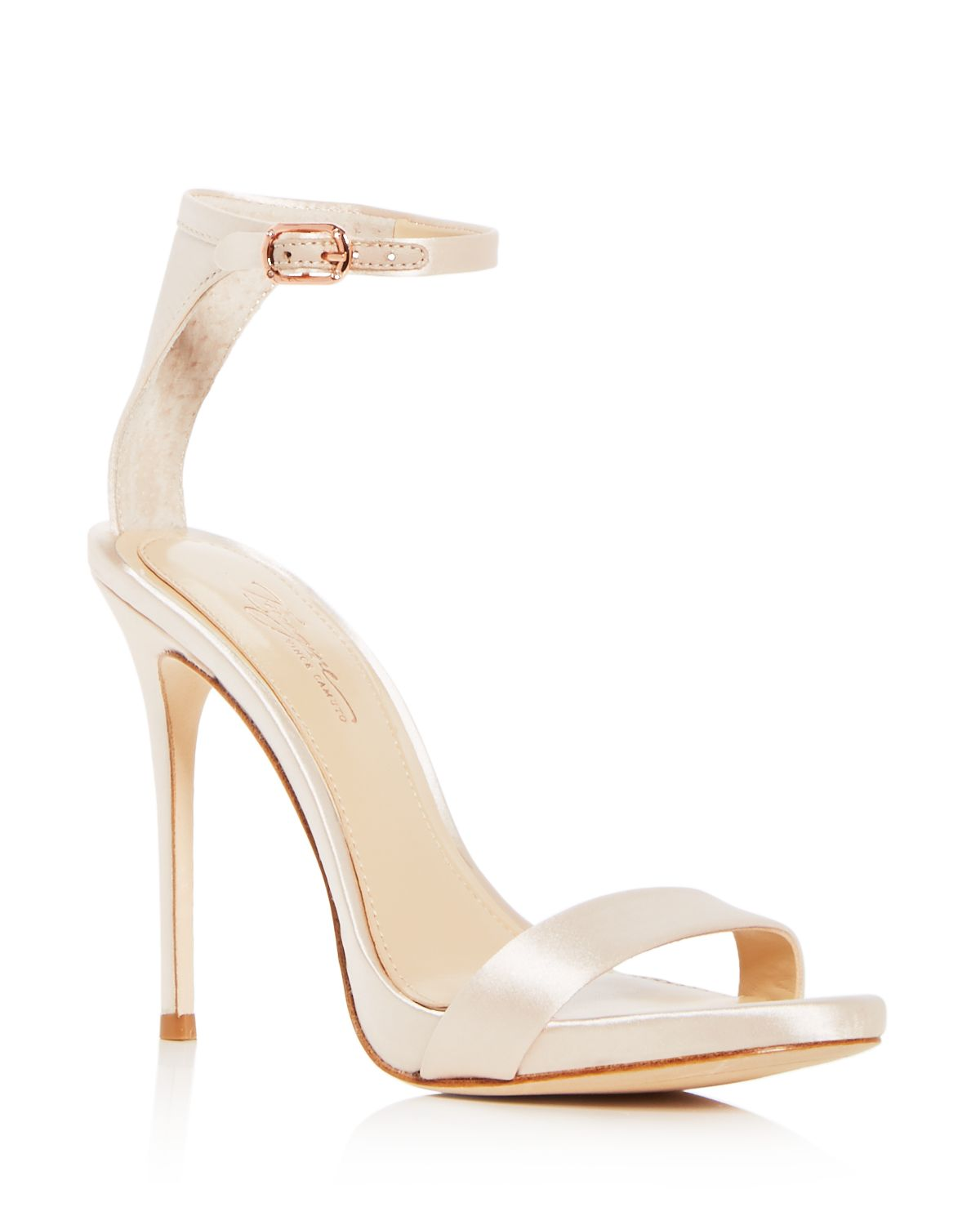 Vince Camuto Dacia Leather Ankle Strap High-Heel Sandals