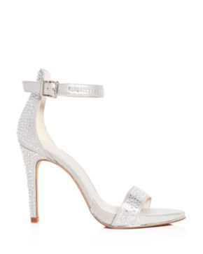 Kenneth Cole Women's Brooke Shine Embellished Ankle Strap High-Heel Sandals c93dB2yh