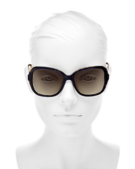 kate spade new york - Women's Karalyn Polarized Square Sunglasses, 56mm