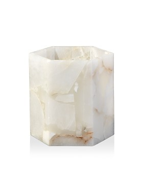 Jamie Young - Savannah Hex Hurricane Candle Holder