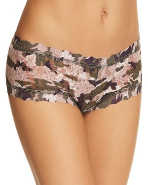 Hunter Boyshort, Taupe/Green, Taupe-Green
