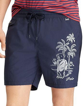 02c31cd270d93 Polo Ralph Lauren Explorer Tropical Swim Trunks   Bloomingdale's