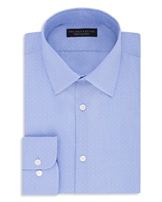 The Men's Store at Bloomingdale's Micro-Dobby Regular Fit Dress Shirt_0