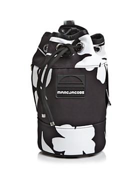 MARC JACOBS - Small Drawstring Floral Print Sport Handbag