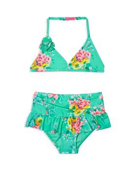 Hula Star - Girls' Garden Dream 2-Piece Swimsuit - Little Kid