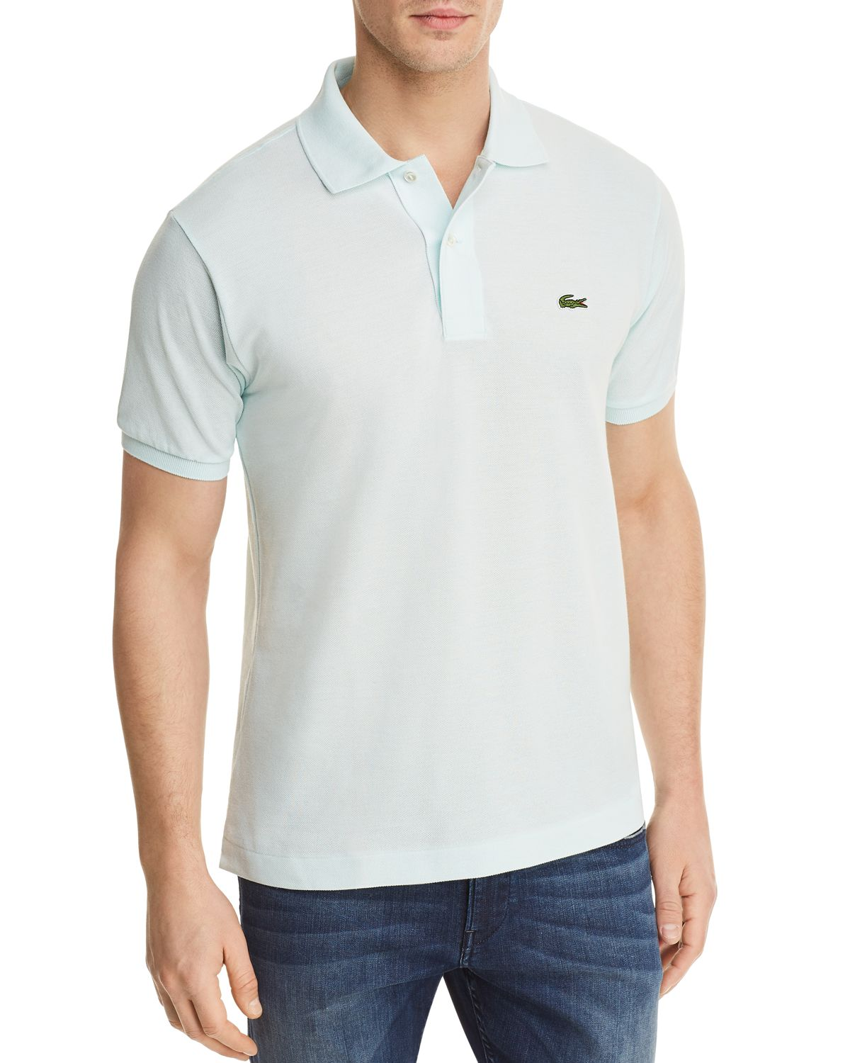 Classic Short Sleeve Piqué Polo Shirt by Lacoste