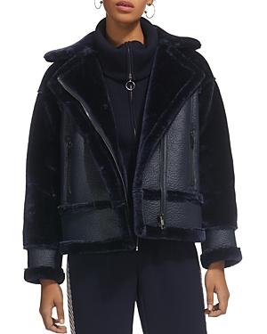 Whistles Mix Faux-Shearling Jacket