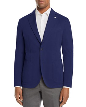 L.B.M - Garment Dyed Cotton Slim Fit Sport Coat