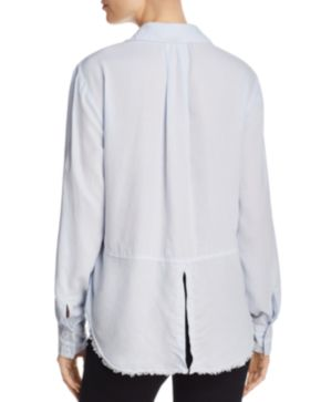 Frayed Hi-Lo Hem Shirt Bella Dahl Browse Cheap Price Cheap How Much Discount Excellent zPNeugfk7A