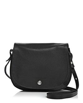 Longchamp - Le Foulonne Small Leather Saddle Handbag