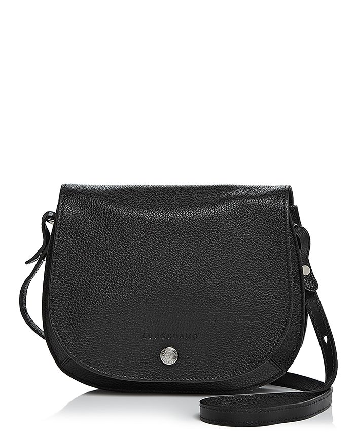 Longchamp - Le Foulonne Small Leather Saddle Handbag