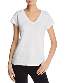 Velvet by Graham & Spencer - Jilian V-Neck Tee