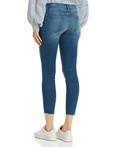 FRAME - Le Skinny De Jeanne Raw-Edge Skinny Jeans in Odyssey - 100% Exclusive