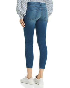 FRAME - Le Skinny De Jeanne Raw-Edge Skinny Jeans in Odyssey - 100% Exclusive