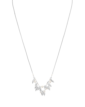 Nadri Willow Pave & Faux-Pearl Necklace, 26