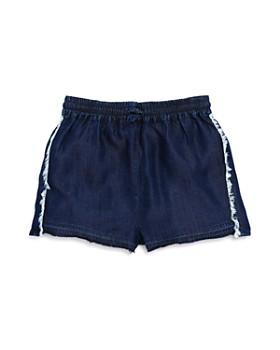 DL1961 - Girls' Frayed Denim Shorts - Little Kid