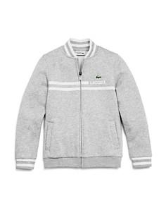 Lacoste Boys' Zip-Up Fleece Sweater - Little Kid, Big Kid - Bloomingdale's_0