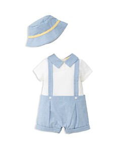 Little Me Boys' Handsome Romper & Hat Set - Baby - Bloomingdale's_0