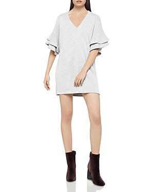 BCBGeneration Ruffle-Sleeve Tunic Dress