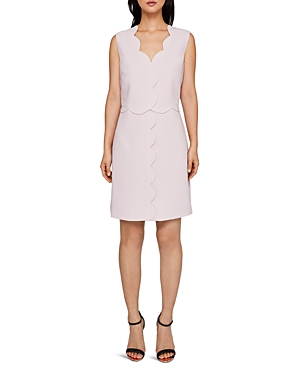 Ted Baker  RUBEYED SCALLOP-EDGE DRESS