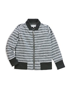 Sovereign Code - Boys' June Striped Chambray Bomber Jacket - Little Kid, Big Kid