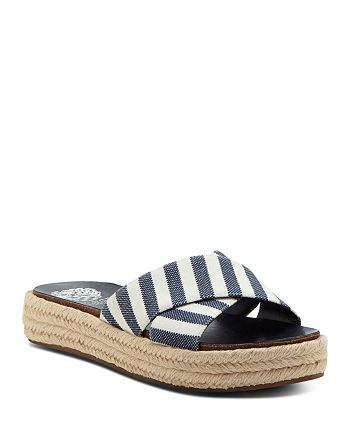 c0bcd09ec77 VINCE CAMUTO Women s Carran Platform Espadrille Slide Sandals ...