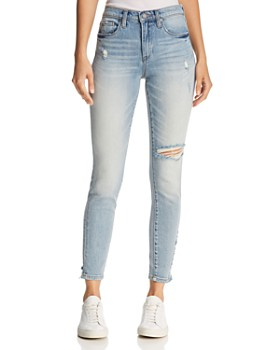 BLANKNYC -  Distressed Skinny Jeans in Constant Convo