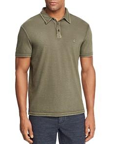 John Varvatos Star USA Peace Sign Burnout Polo Shirt - Bloomingdale's_0