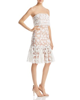 Jarlo - Annora Strapless Lace Dress