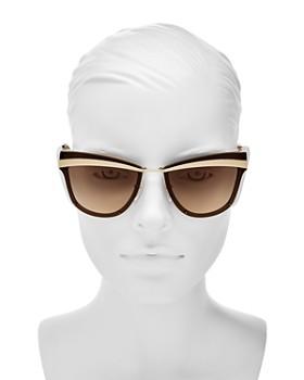 Prada - Women's Oversized Cat Eye Sunglasses, 61mm