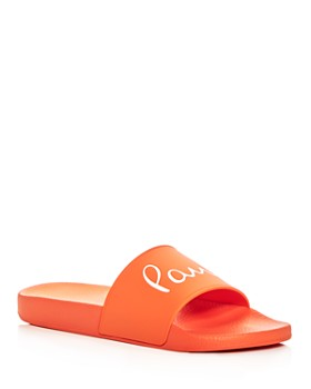 Paul Smith - Men's Ruben Signature Slide Sandals