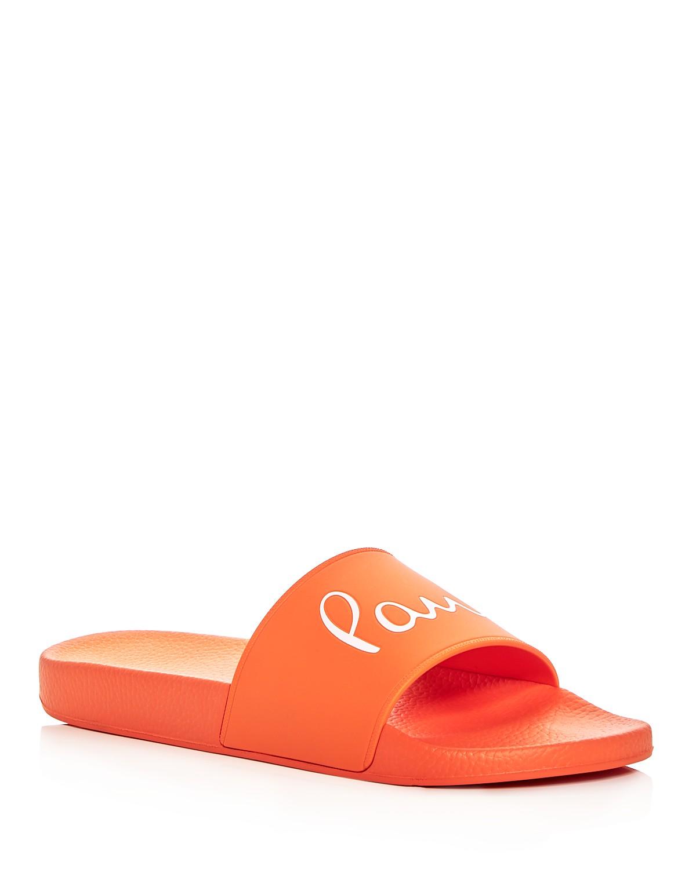 Paul Smith Men's Ruben Signature Slide Sandals