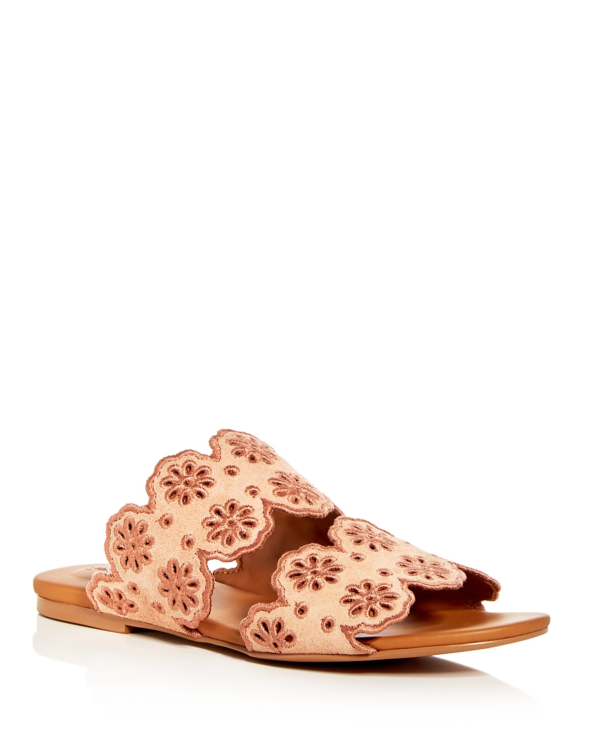 See by Chloé Suede Slide Sandals cheap online store TS8oXRtou