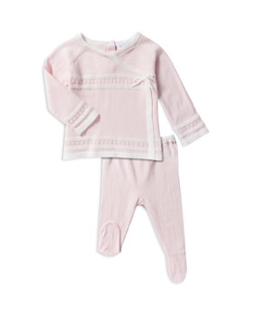 Angel Dear - Girls' Shirt & Footie Pants Take Me Home Set - Baby