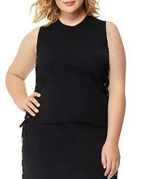 50c53052cd31a Rebel Wilson x Angels Plus - Side Lace-Up Top ...