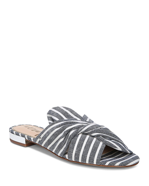 Sam Edelman Women's Darian Striped Slide Sandals - 100% Exclusive