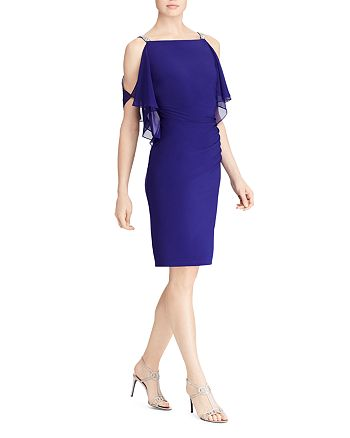 Ralph Lauren - Cold-Shoulder Dress