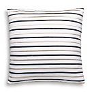 "kate spade new york Embroidered-Stripe Decorative Pillow, 18"" x 18"""