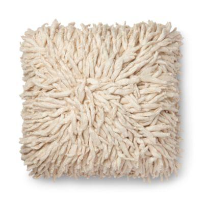 $Loloi Cream Decorative Pillow, 22