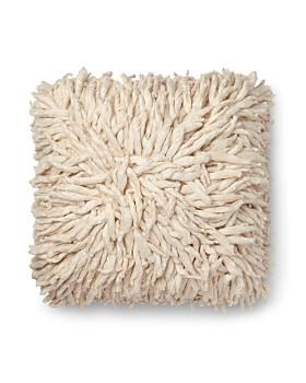 "Loloi - Cream Decorative Pillow, 22"" x 22"""